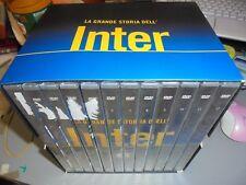 BOX COFANETTO 12 DVD LA GRANDE STORIA DELL'INTER INTERNAZIONALE FC CALCIO
