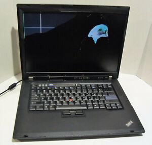 Lenovo ThinkPad R61i 15.4in. (Intel Pentium 1.73GHz, 1GB) Notebook/Laptop BROKEN