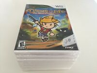 Drawn to Life: The Next Chapter (Nintendo Wii, 2009) WII NEW