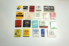Lot Of 20 Transportation Automobile / Other Matchbooks All Unused And Full