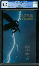 Batman: The Dark Knight Returns 1 CGC 9.4 - White Pages - 3rd Print