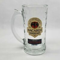 Bacardi Oakheart Spiced Rum Bat 12 Oz Glass Mug Stein Glassware Barware Mancave