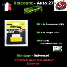BOITIER ADDITIONNEL PUCE OBD CHIP BOX ESSENCE FIAT GRANDE PUNTO 1.2 65/69 CV