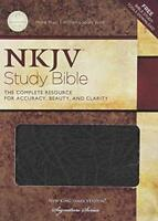 Nelson's New King James Study Bible  - by Thomas Nelson