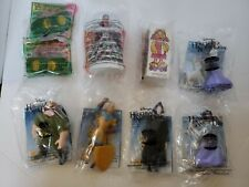 Assorted Kid's Meal Toys Hunchback of Notre Dame Barbie Hot Wheels McDonald's
