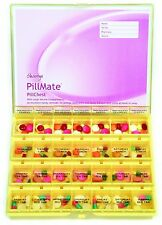 Pillmate Pill Chest Extra Large Multi Dose 7 Day (Colour May Vary)