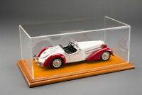 ATLANTIC 10057 10059 AICHI 1:18 CAR MODEL Display Case Mahogany or Linden wood