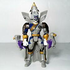 """MMPR Power Rangers 6.5"""" Lunar Wolf Ranger Transformer Bandai 2002"""