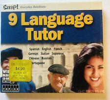 Snap! 9 Language Tutor Software