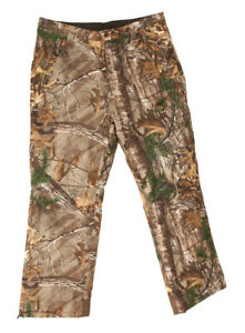 Men's Thinsulate Insulated Camo hunting Water Resistant Pants Realtree Xtra