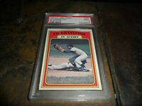 1972 ED KRANEPOOL OPC #182 O-PEE-CHEE IN ACTION NEW YORK METS MINT PSA 9