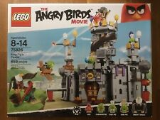LEGO The Angry Birds Movie 75826 King Pig's Castle NISB FREE SHIP