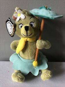 "WARNER BROS 8"" Plush YOGI BEAR  CINDY Stuffed HANNA BARBERA Toy Animal NEW"