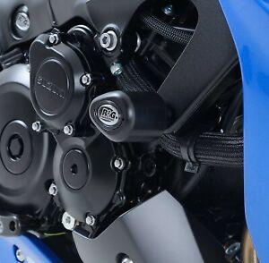 R&G Aero Crash Protectors Black for Suzuki GSXS1000 ABS 2015 2016 2017 2018