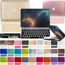 Brand New Case Cover+Keyboard Skin for Apple MacBook air Pro 11 12 13 15 16 inch