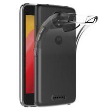 CUSTODIA COVER BUMPER TRASPARENTE TPU SILICONE GEL per Motorola Moto C