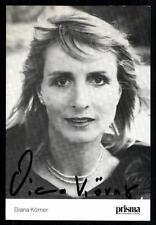 Diana grani AUTOGRAFO carta 90er anni originale firmato +38687 + 87230