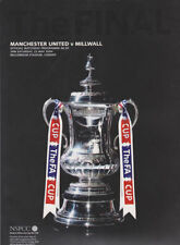 FA Cup Final Football Programmes with Match Ticket