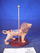 franklin mint treasury of the carousel lion figure (Dentzel)