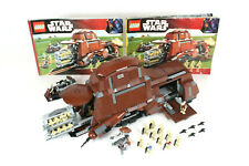 LEGO Star Wars Trade Federation MTT 7662 Retired 100% Complete with Both Manuals