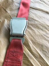 Amsafe Aircraft Seat Belt Red