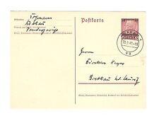 Deutsches Reich Briefmarken Generalgouvernement Ganzsache Mi P2II Krakau 1940