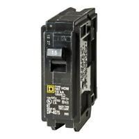 Square D Homeline 15-Amp 1-Pole Standard Trip Circuit Breaker