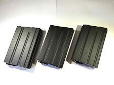 3 PCS BATTLEAXE M4/M16 190rds Metal Magazine set for Airsoft AEG Hi-Cap Mag