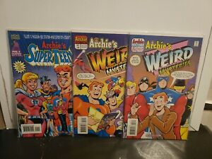 Archie's Super Teens #1 Weird Mysteries #3 14 Mighty Crusaders Crossover Poster