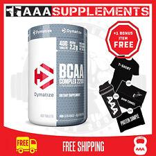 Dymatize Bcaa 2200 BCAA Amino Acids (400Caps) Fitness Weight Fat Loss Supplement