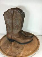 Ariat Heritage Round Toe Western Boots Brown 10004736 Size 7B Brown Green Womens