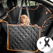 Lantoo Dog Seat Cover, Large Back Seat Pet Seat Cover Hammock for Cars, Trucks,