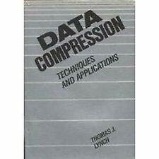 Data Compression Techniques and Applications by Lynch, Thomas J.