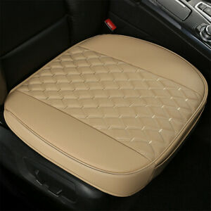 1PCS Car Breathable Front Seat Cover PU Leather Pad Mat Cushion Full Surround