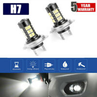 Car H7 160W LED Fog Light Bulbs Car Driving Lamp DRL 6000K White Light Canbus UK