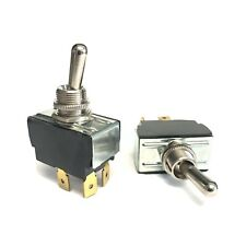Pair Of Carling Heavy Duty Toggle Switches For Guitar Amps On Off