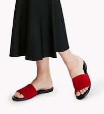 NWT Newbark Theory Roma Red Sandal Slides Size 8 38