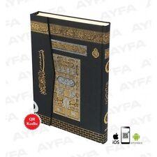 Kabe Desenli Kuran Rahle Boy QR Kod lu 20 x 28 cm mit QR Code, leicht Lesbar NEU