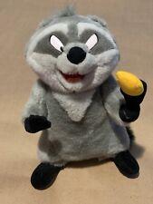 "Disney Parks Pocahontas Raccoon Plush Meeko 17"" Disneyland Posable Arms & Head"