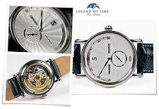 Chronoswiss Dress Watch Delphis Steel Silver Jump Hour Retrograde Minutes CH1423