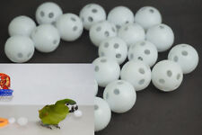 20× Funny Game Pet Bird Toys Budgie Parrot Basketball Bell Balls Dog Cat Toy