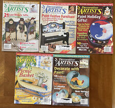 Decorative Artists Magazines , lot of 5, $5.00