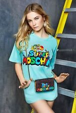 RARE! SS16 Moschino Couture X Jeremy Scott Super Mario Yoshi Dino Shoulder Bag