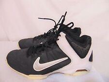 NIKE Air VISI Pro 4 Womens Basketball Shoes Sz 10 M Black/White 587562-002
