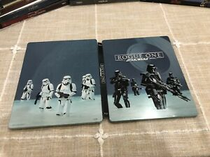 Rogue One: A Star Wars Story Steelbook Blu-Ray 3D Blu Ray DVD
