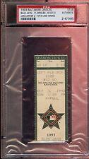 October 3 1993 Ticket Stub Toronto Blue Jays at Baltimore Orioles PSA Authentic