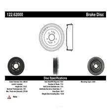 Brake Drum-Premium Drum - Preferred Rear,Front Centric 122.62000