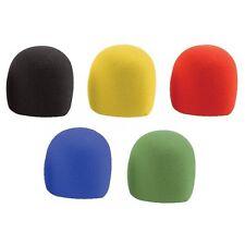 VisioSound Foam Microphone Windshields - 5 Pack of Mic Wind Shields