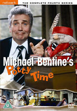 DVD:MICHAEL BENTINES POTTY TIME - SERIES 4 - NEW Region 2 UK