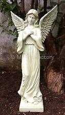 Gartenfiguren & -skulpturen aus Kunststein mit Engel-Motiv